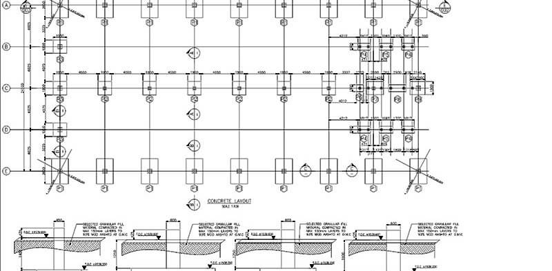 Alpha Cad Service For Rebar Detailing Services