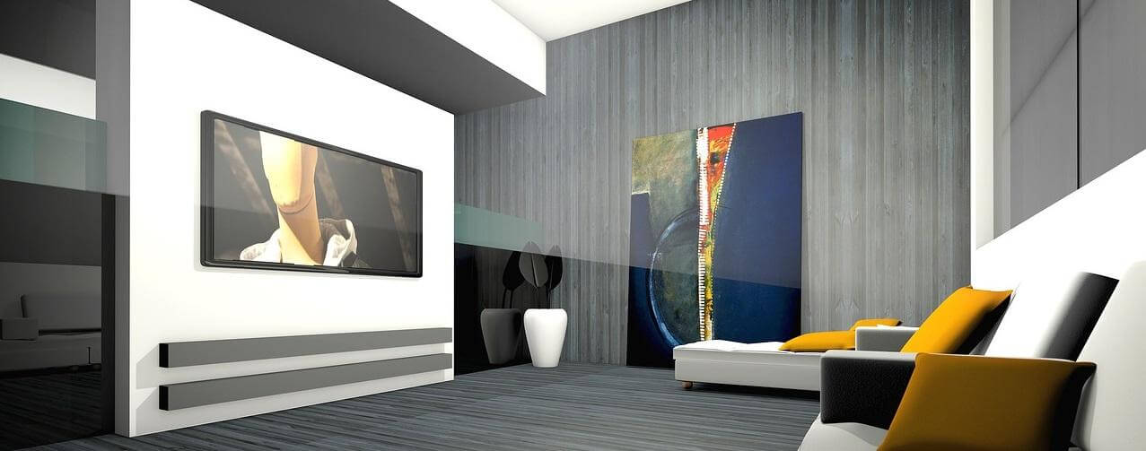 Interior 3D Rendering Modeling